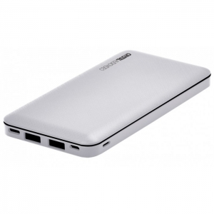 Crystal Audio PBK-10WH 10000mAh White Powerbank
