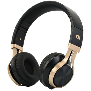 Crystal Audio OE-02-KG Black-Gold Κεφαλής Ακουστικά Hands Free