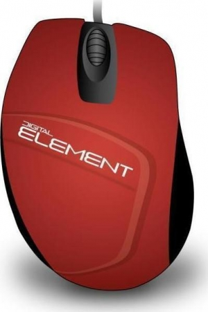 Element MS-30R Red Ενσύρματο Ποντίκι